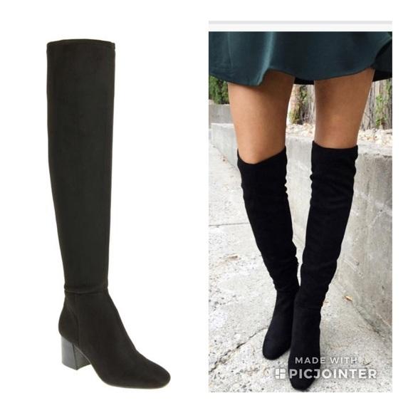 7167b0c5b49 Vince Camuto Black Kantha Boots Sz 9